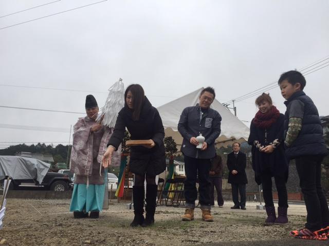 【大野城市】F様邸の地鎮祭を執り行いました