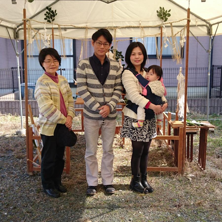 【糸島市】F様邸の地鎮祭を執り行いました