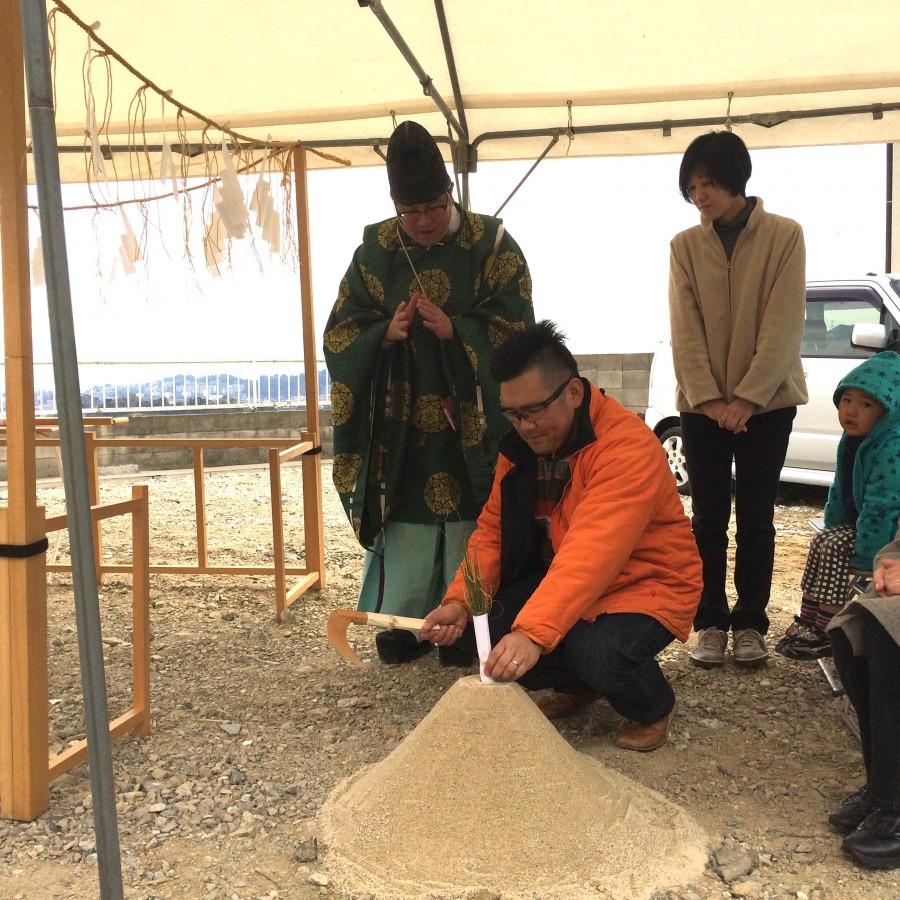 【北九州市八幡東区】A様邸の地鎮祭を執り行いました