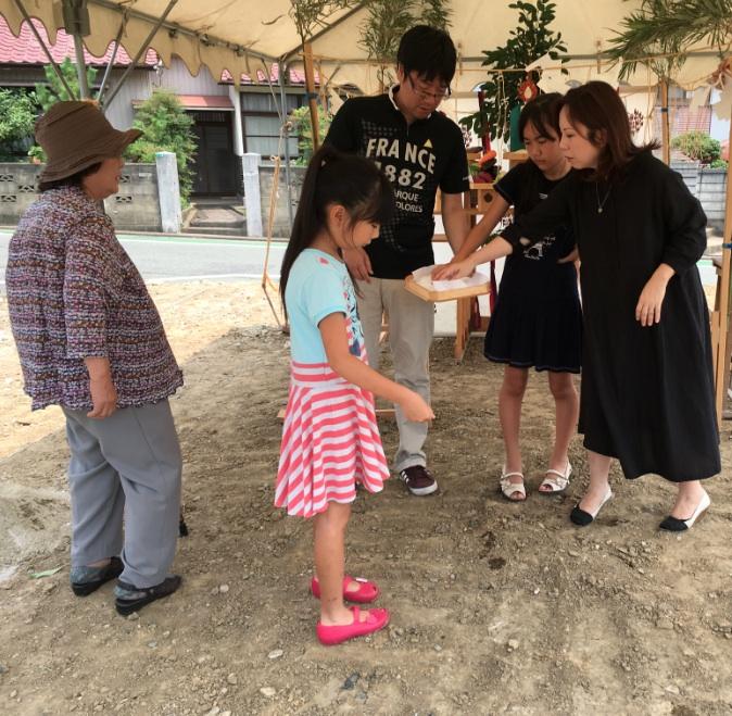 【北九州市若松区】K様邸の地鎮祭を執り行いました
